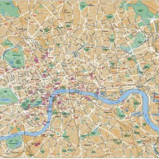 London downtown map
