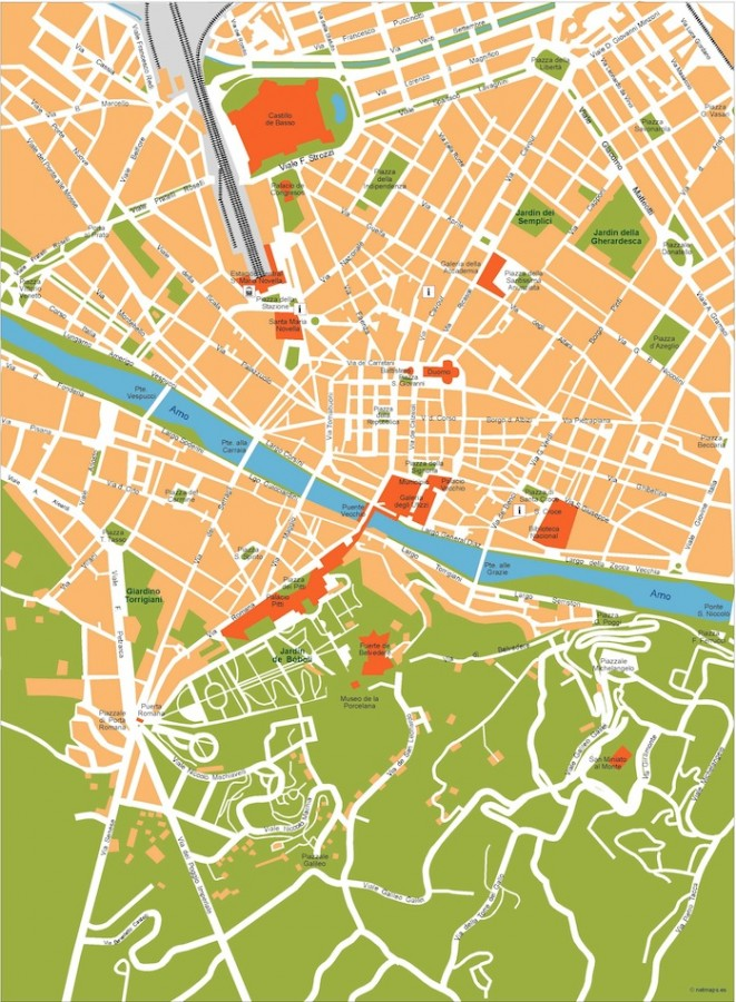 florence vector map