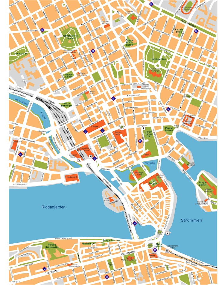 Stockholm vector map Order and Download Stockholm vector map made