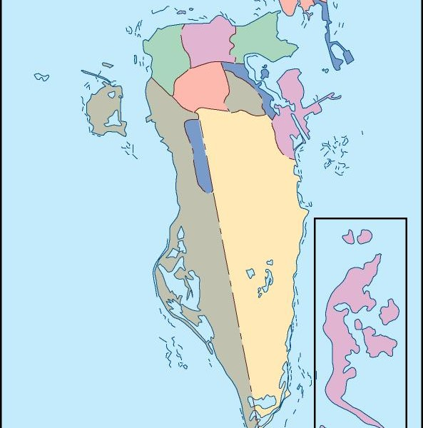 bahrain blind map