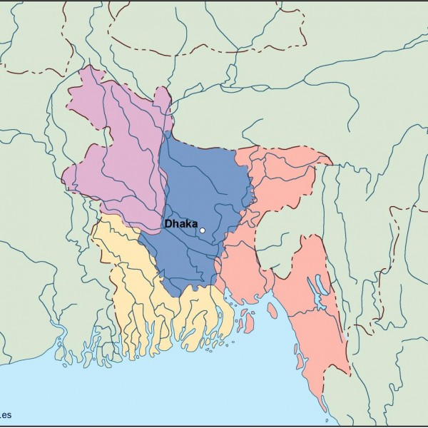 bangladesh vector map