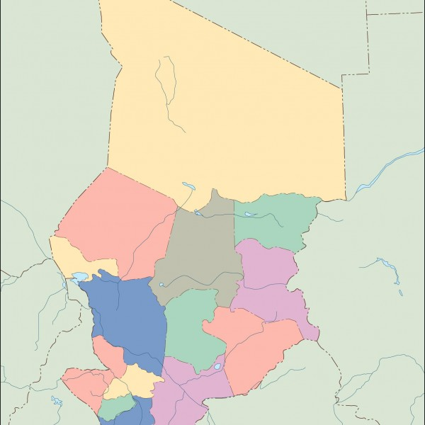 chad blind map