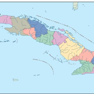 Puerto Rico Political Map Order And Download Puerto Rico Political Map
