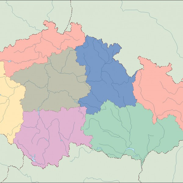 czech republic blind map