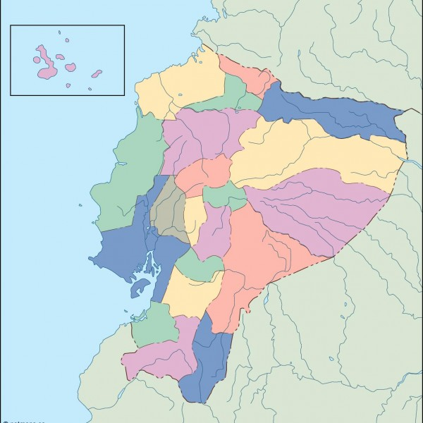 ecuador blind map