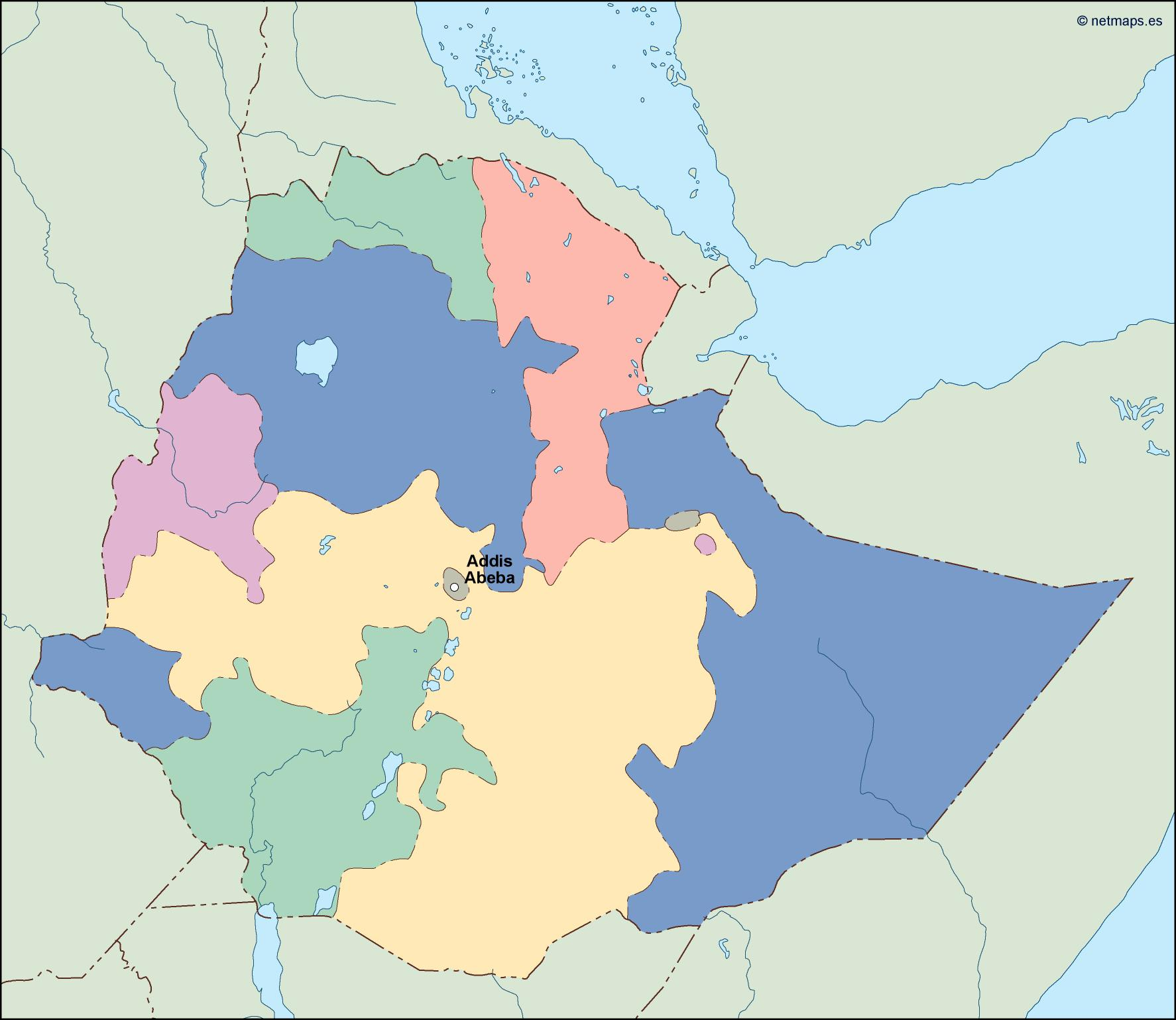 sudan political map Vector Eps maps Order and Download sudan