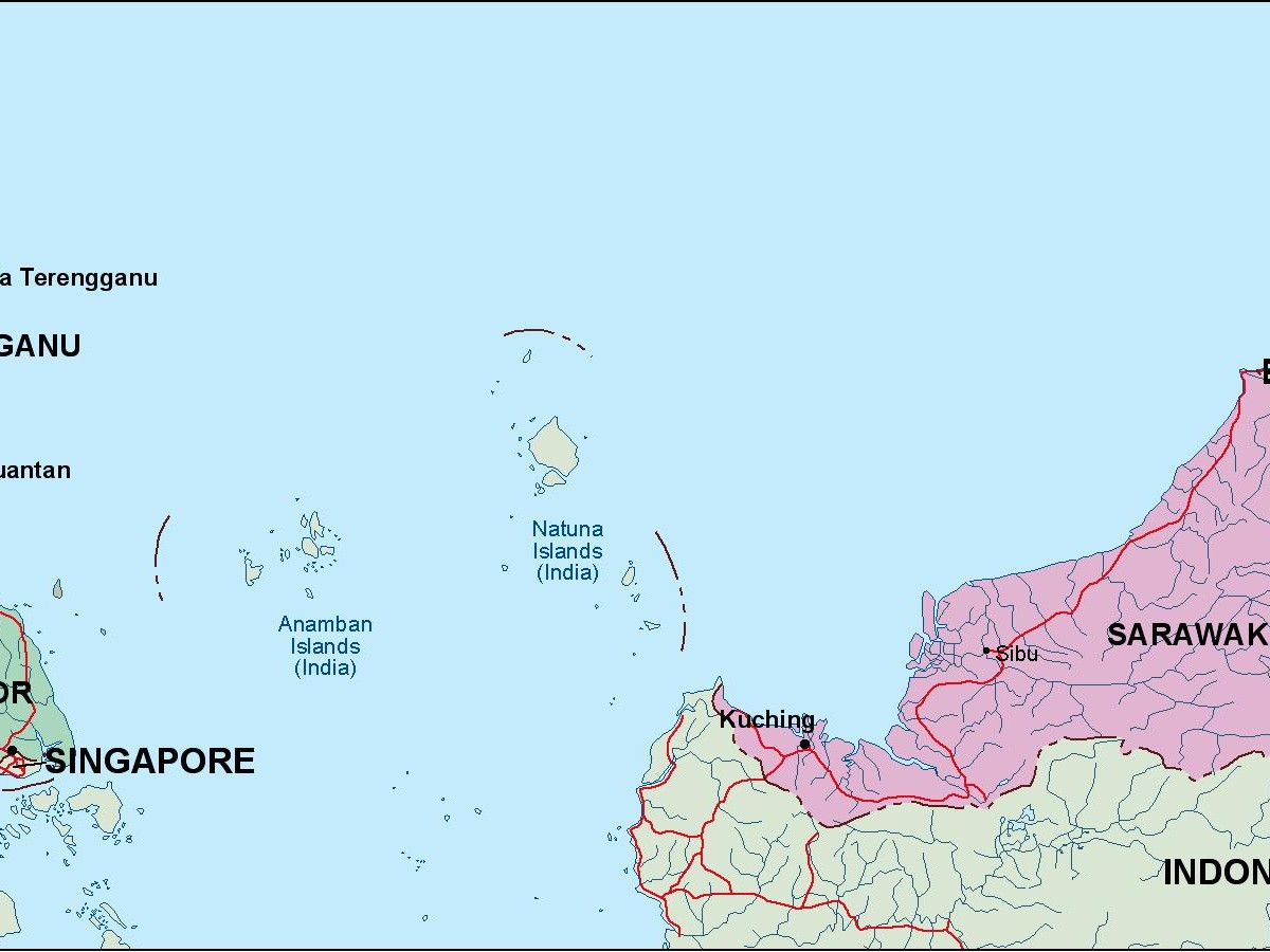malaysia political map Order and Download malaysia political map