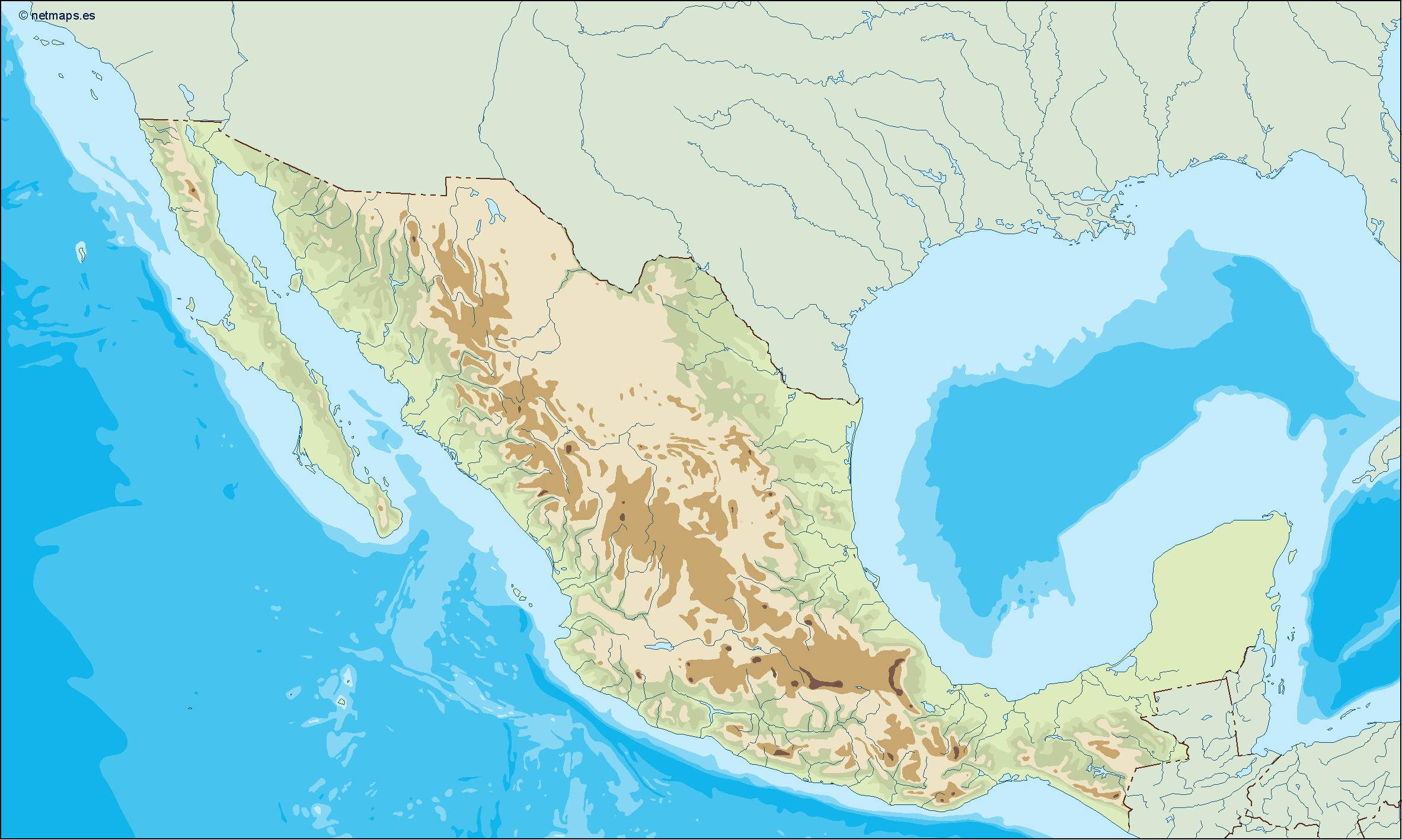 America north eps countries download our america north eps mexico illustrator map gumiabroncs Choice Image