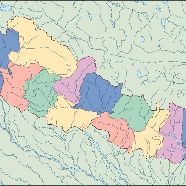 nepal blind map