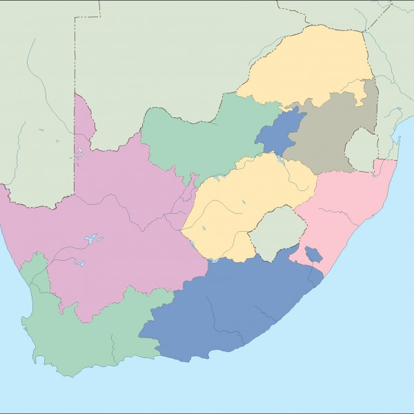 south africa blind map