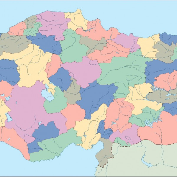 turkey blind map