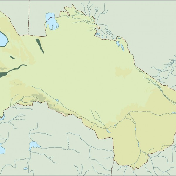 turkmenistan illustrator map