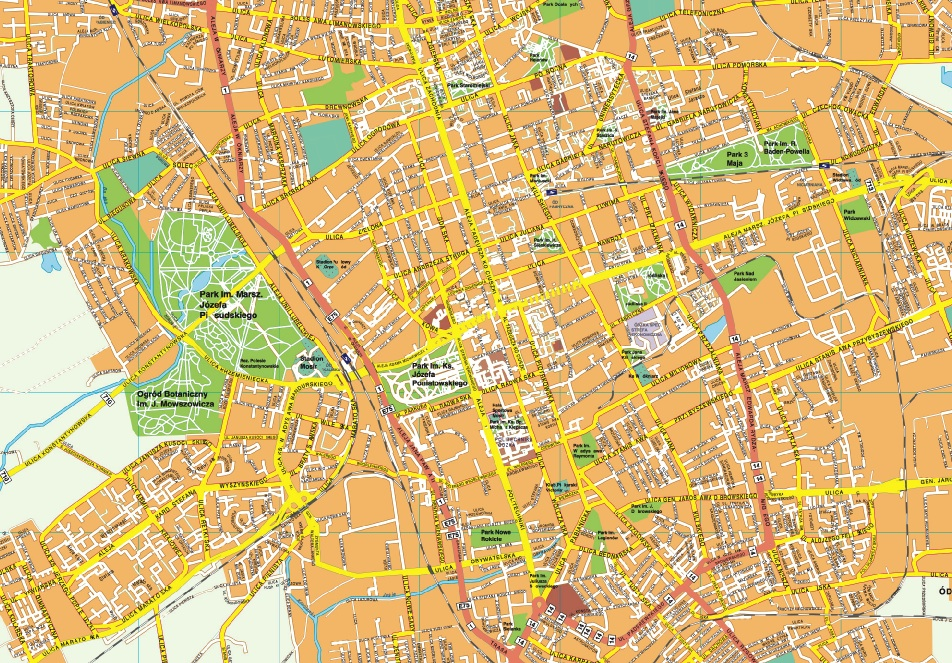 Szczecin EPS map Order and Download Szczecin EPS map made for our