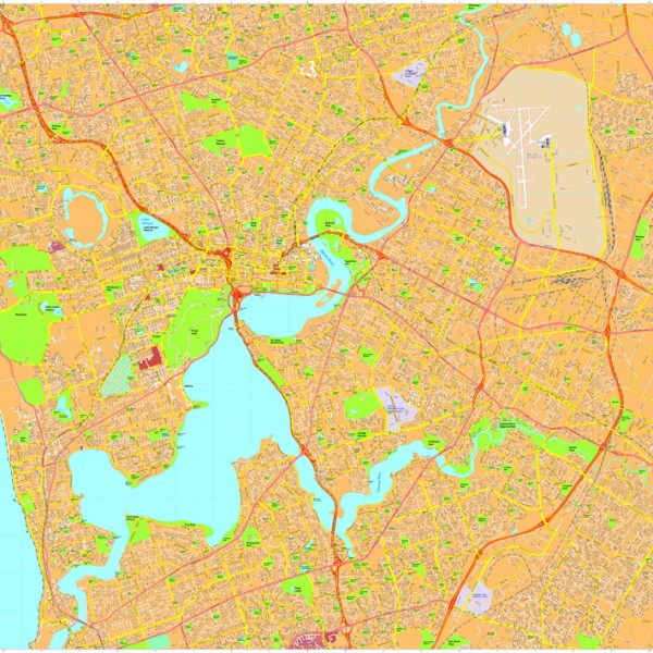 Perth Vector Maps