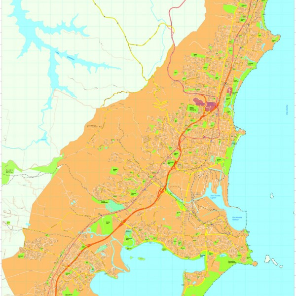 Wollongong Vector Maps