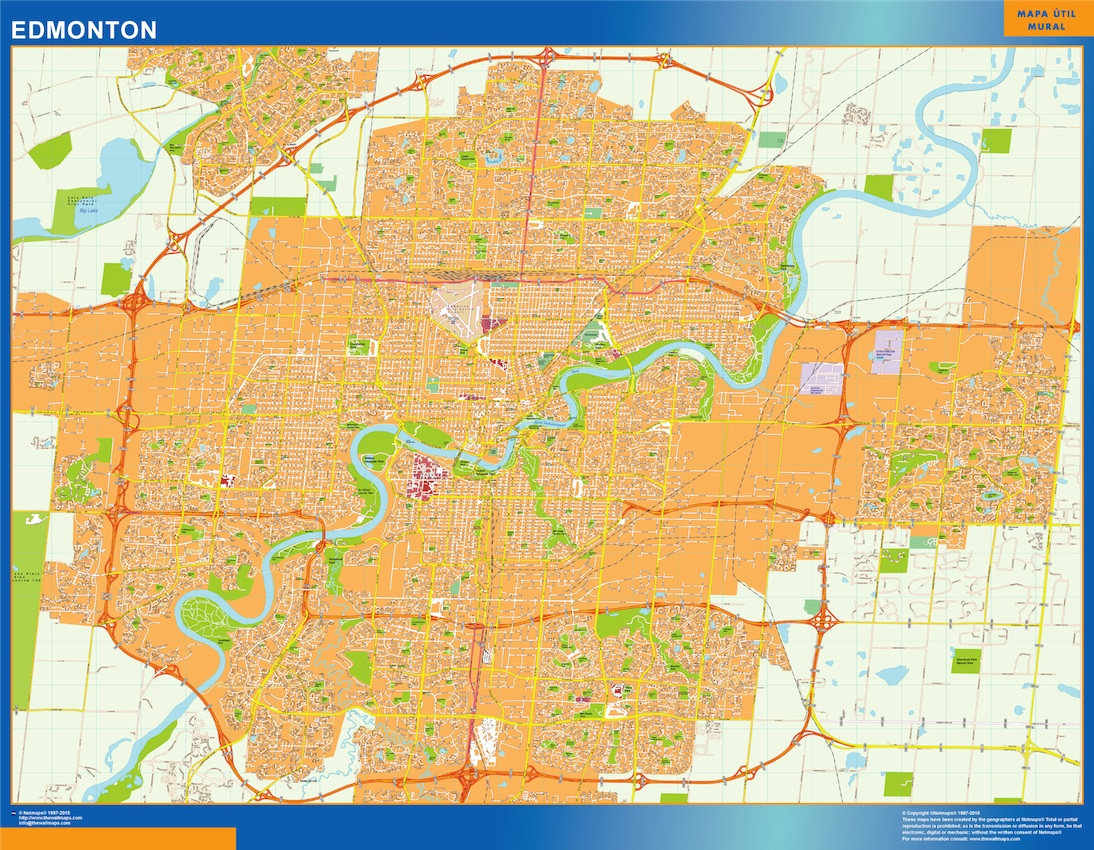 Edmonton vector map order and download edmonton vector map made edmonton vector map gumiabroncs Images