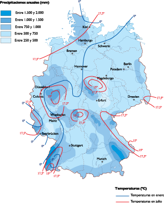 Germany Climate Map Order And Download Germany Climate Map Made - Germany map 2015