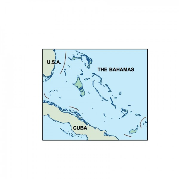 bahamas powerpoint map