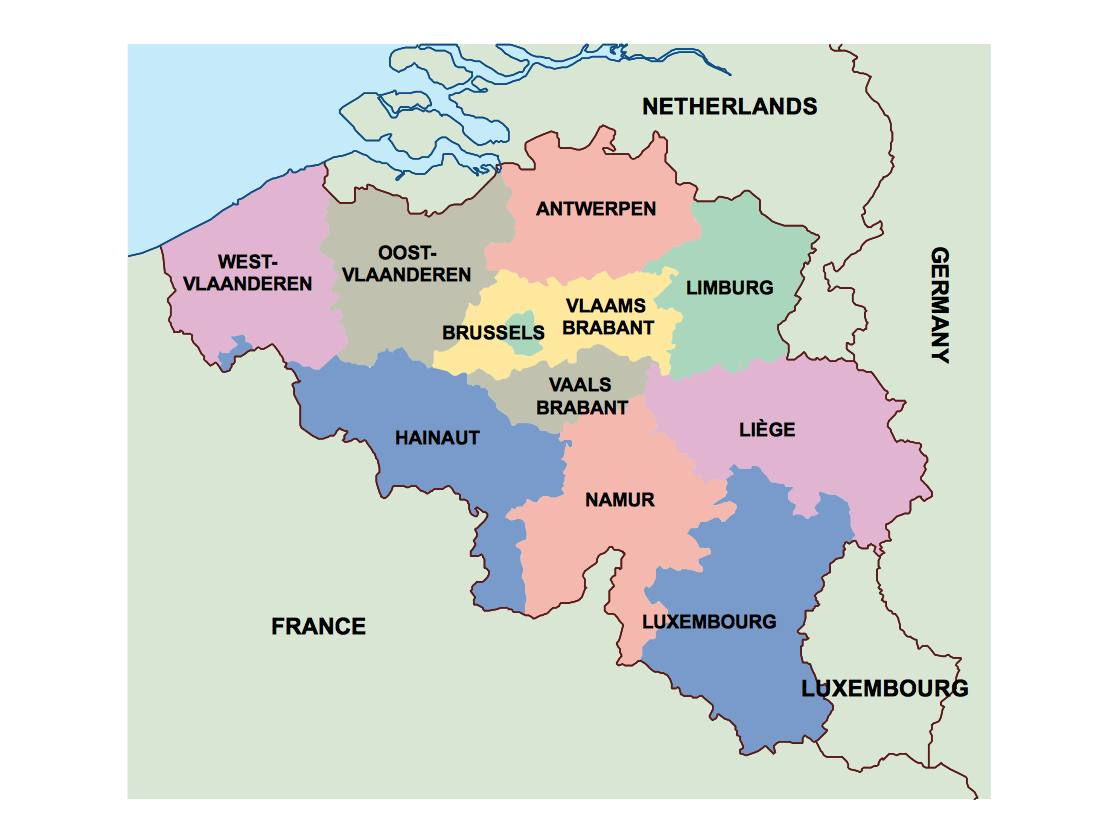 Maps Update 800699 Belgium Political Map Political Map of – Map of Belguim