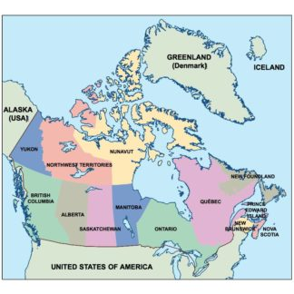 Map Of Canada Eps.Canada Eps Country Maps For Adobe Illustrator As Vector Eps Maps