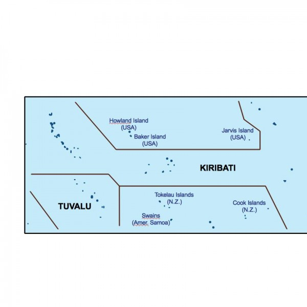 kiribati powerpoint map