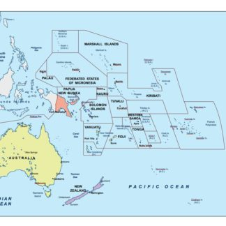 oceania ppt maps for adobe illustrator as vector eps maps