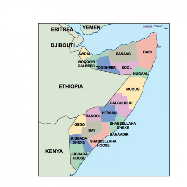 somalia powerpoint map