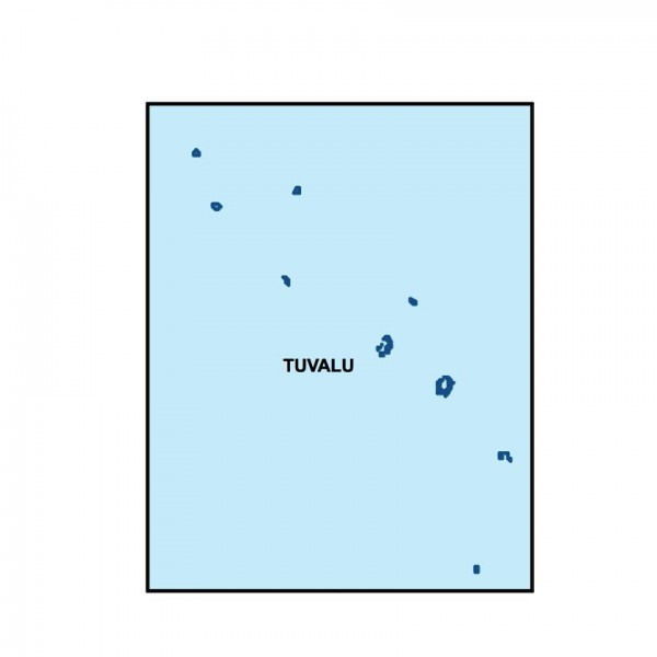 tuvalu powerpoint map