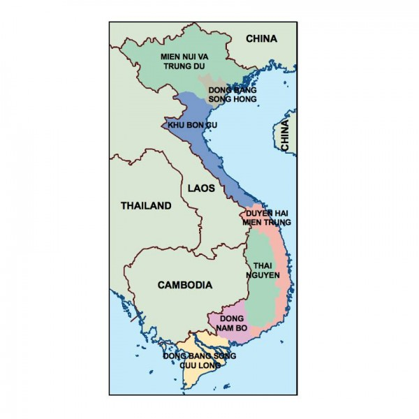 vietnam powerpoint map