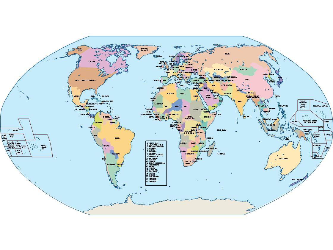 World globe powerpoint map order and download world globe world globe powerpoint map gumiabroncs Image collections