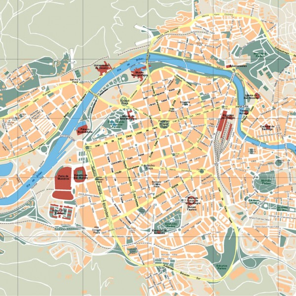 Bilbao Illustrator Map