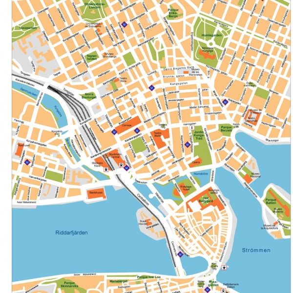 Stockholm Illustrator Map