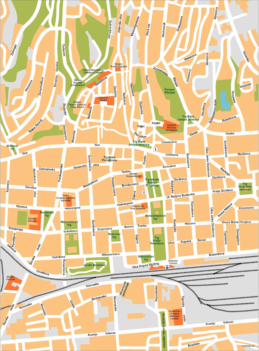 Zagreb Illustrator Map on rijeka city map, opatija city map, prizren city map, vukovar city map, treviso city map, cotonou city map, belgrade city map, film city map, geneva city map, zug city map, serbia city map, goteborg city map, perth city map, pretend city map, cluj city map, santiago city map, pula city map, alicante city map, port of spain city map, marbella city map,