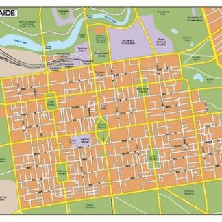 adelaide vector map