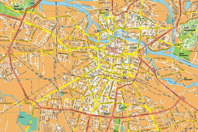 Wroclaw Eps Map Order And Download Wroclaw Eps Map