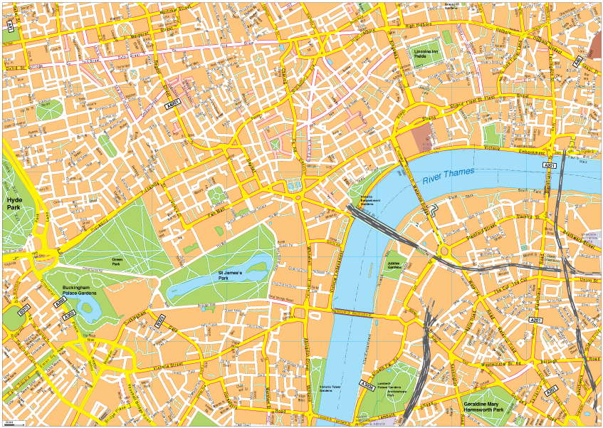 Download Map London.London Vector Eps Map